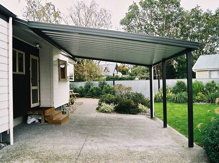 Attached Carports Designs Example