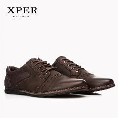 [ 18% OFF ] Xper Brand Men Casual Shoes Lace-Up Men Flats Shoes Breathable Casual Shoes For Men Huarache Big Size Ym86838Bn