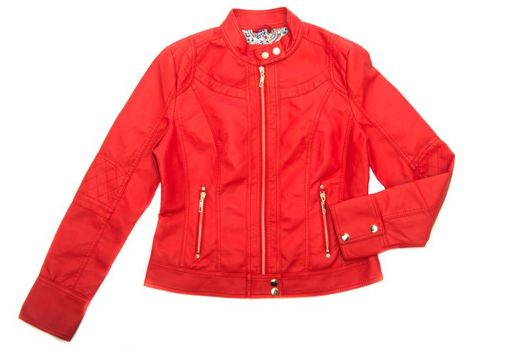 Red Leather Jacket R580 Chanson 074 502 9589