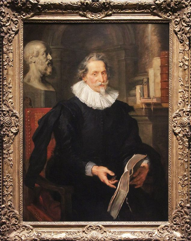 Portrait of Ludovicus Nonnius, Peter Paul Rubens, about 1627 | da Kotomi_