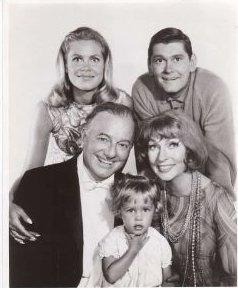 Samantha, Darrin, Maurice, Endora and Tabitha. My favorite show, Bewitched.