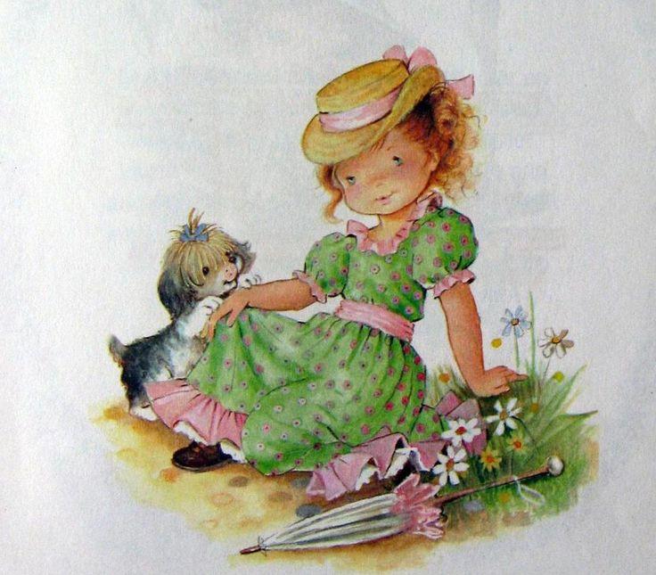 Серия открыток с детьми, марта