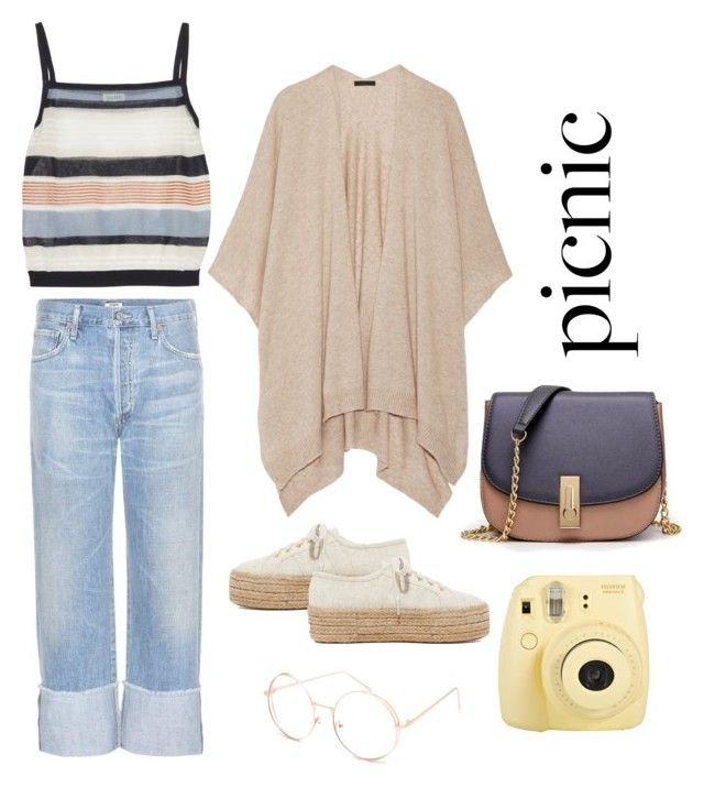 An Outfit for a picnic day.