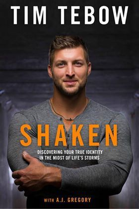 In Shaken, Tim Tebow shares how he's learned to be steady during life's storms by discovering his true identity in Christ and sharing that hope with others.