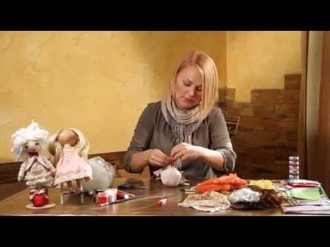 «Ручная работа». Кукла тыквоголовка (12.11.2014) - YouTube
