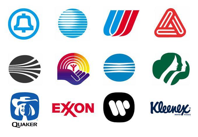 Collection of Saul Bass Logos