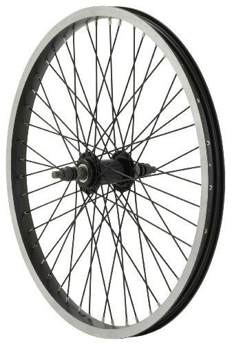 Diamondback 48H Alec C 303 Rim BMX 20 Inch x 1.75 Inch Black/Black Wheel (Front) by DiamondBack. $27.71. Amazon.com                Upgrade your BMX ride with this Diamondback 48H 20-inch rear wheel. The wheel offers such features as black brushed sides, single-wall rims, 48 14-gram black spokes, and a loose-ball mid-flange hub. The wheel measures 20 inches in diameter by 1.75 inches wide.                                    Product Description                Theproduct is Di...