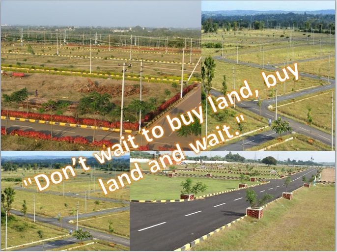 If you are waiting to buy Land Plots in Bengaluru then you are wrong. Don't wait just buy it and wait for some time you will definitely get appreciation. Read the Blog post and understand the value of buying land.