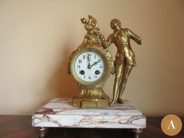 Часы каминные 1900 гг.