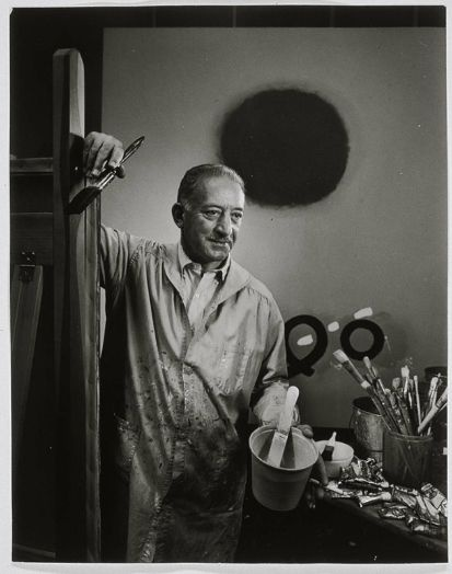 Adolph Gottlieb in his Studio, 1966  by Yousuf Karsh