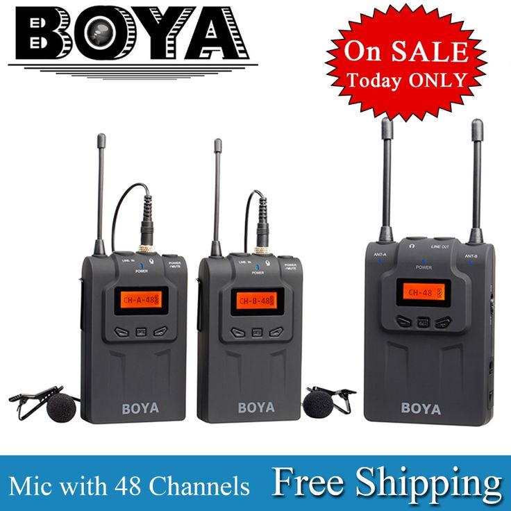 99.95$  Watch more here - http://ai8nl.worlditems.win/all/product.php?id=1789850104 - BOYA BY-WM5/BY-WM6/BY-WM8 Camera Wireless Lavalier Microphone Recorder System for Canon 6D 5D2 5D3 Nikon D800 Sony DV Camcorder