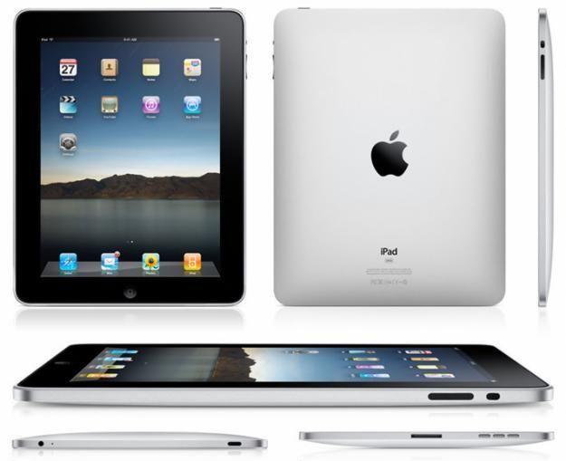 Apple iPad 1st Generation 16GB, Wi-Fi, 9.7in - Black 8-10 condition #Apple