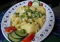 Bramborový salát - kyselý, teplý