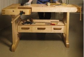 Craftsman Workbench Free Plans from Canadian Home Workshop