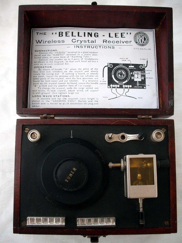 Belling Lee 1920's Crystal Set