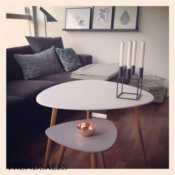 Søstrene Grene - sofabord Liker sånne sofabord! Simple scandinavic.