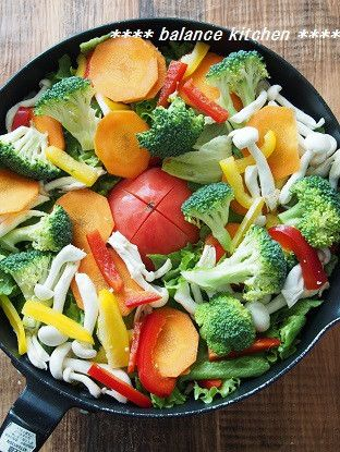10分の1品で野菜不足が一気に解消!!「蒸し野菜サラダ」|医師が教える ... 蒸し野菜サラダ 手順2