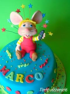 Le torte decorate di Beatrice: Topo Gigio cake