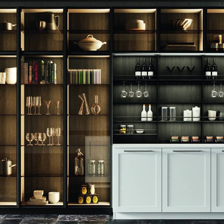 Pin On A Modular Kitchen: Arrital AK_Gallery Kitchen Range Available Through Retreat