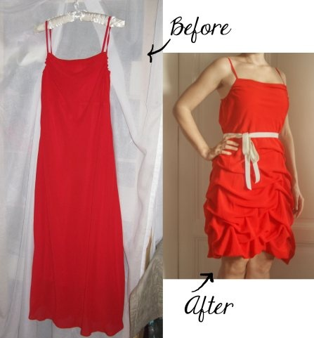 Weihnachtsfeier-Kleid / Christmas-Party Dress | The Little Cave