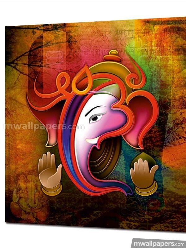 Lord Ganesha Beautiful Hd Photos 1080p Ganesha Painting