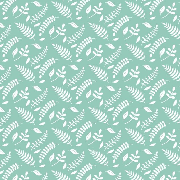 Branches pattern design Free Vector