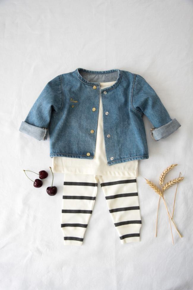 Marque de vêtements en poudre bio   – Baby; sweet things