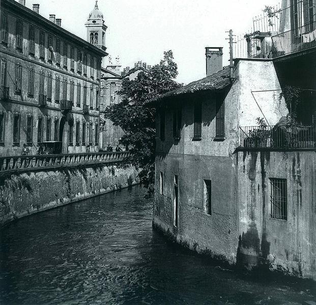 Via Fatebenefratelli nei primi anni del 900.