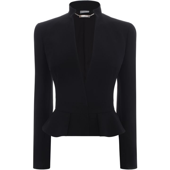 ALEXANDER MCQUEEN | Jackets & Coats | Box Pleat Peplum Jacket