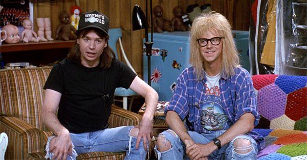 Wayne's World: Wayne & Garth 90s Costume Idea