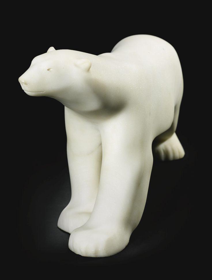 François Pompon  FRENCH  1855-1933  OURS BLANC (POLAR BEAR)