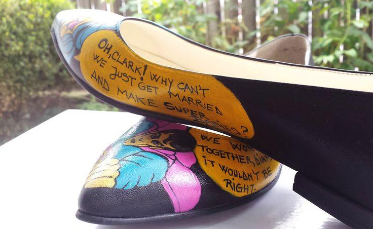 Pantofii lui Superman au ajuns in Romania via Atelier A!UREA  *comenzi si detalii produs: 0733 303 038 (whatsApp), contact@atelieraiurea.ro