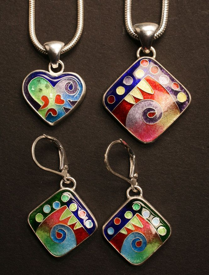 Unique Boutique Michael Romanik Cloisonne Enamel Jewelry
