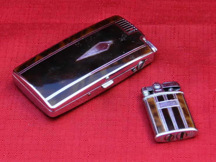 Vintage Ronson Pal Cigarette Case with Lighter and Small Ronson Pocket Lighter        00398 by NWAttic on Etsy https://www.etsy.com/listing/240787220/vintage-ronson-pal-cigarette-case-with