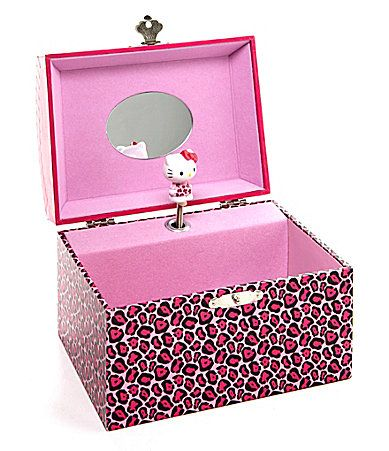 Jewelry Gift Boxes Walmart Mesmerizing 20 Best Jewelry Boxhello Kitty Images On Pinterest  Hello Kitty Design Decoration