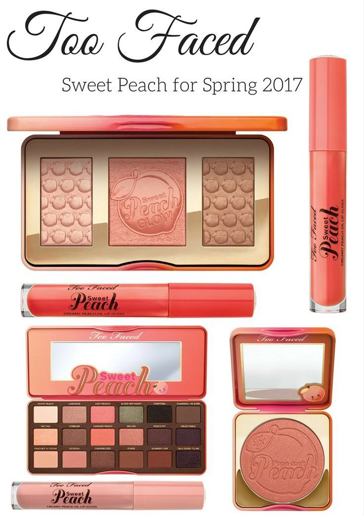 Too Faced Sweet Peach for Spring 2017 Coming to Sephora and Ulta