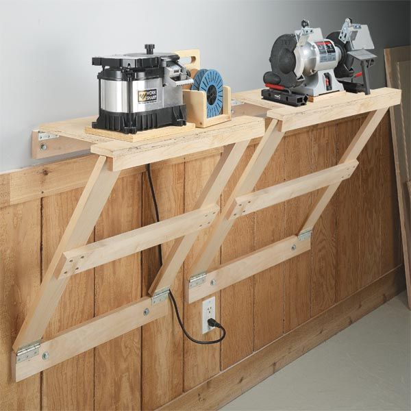 105 best garage wall mounted storage images on pinterest woodworking garage organization - Tips for small spaces model ...