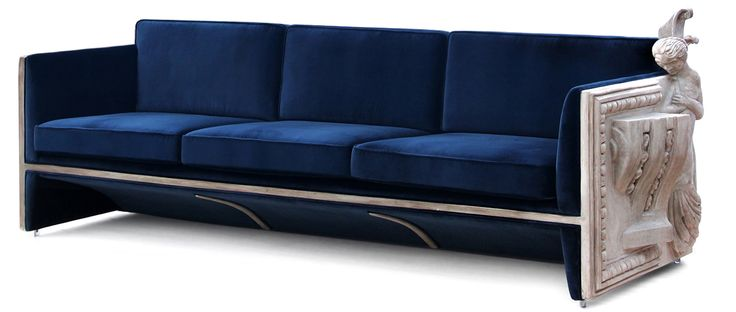 Versailles Sofa | Sofa made in a wood structure and panels in a manual sculpture by Boca do Lobo | more inspiring images at http://diningandlivingroom.com/