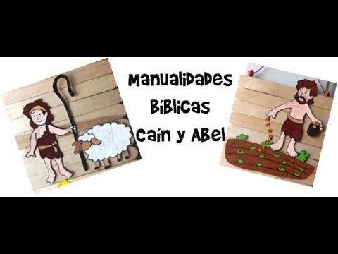 Manualidades Bíblicas/ Caín y Abel - http://cryptblizz.com/como-se-hace/manualidades-biblicas-cain-y-abel/