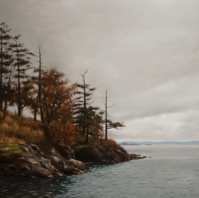 Grey Morning, Finn Point, by Ray Ward
