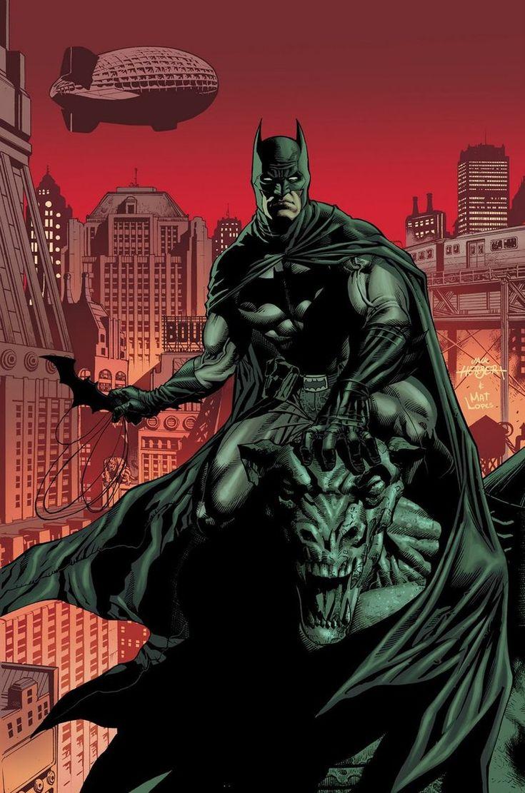 Batman by Jack Herbert (pencils) and Matt Lopes (colours)