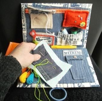 Free sewing pattern: Travel Sewing Kit from Diary