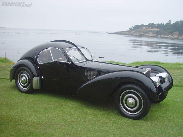 A thing of beauty....  Bugatti type 57 sc atlantic