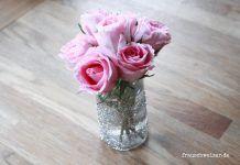 Glitzervase für schöne Blumensträuße
