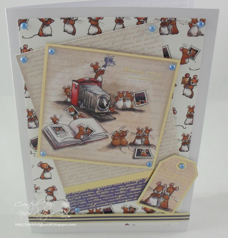 Crafters Companion Makey Bakey Mice collection