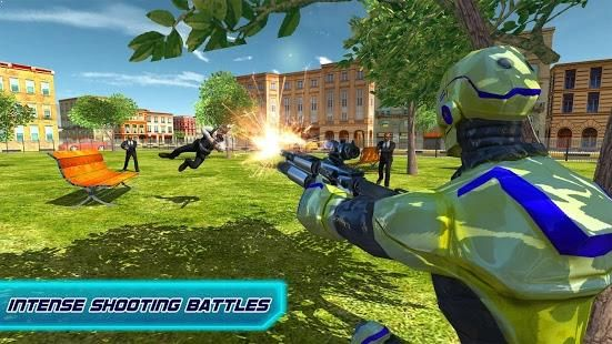 It is a combination of robot battle games, transformers games and robot shooting games.