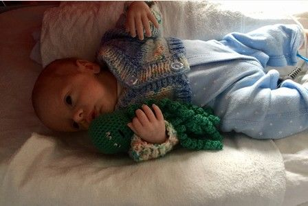 Premature babies at Poole Hospital have a new best friend- a crochet octopus to cuddle up to in their incubators.  While they may seem like an unlikely bedfellow for the babies on the neonatal unit,...