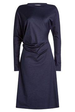 Drapiertes Kleid aus Baumwolle | Jil Sander