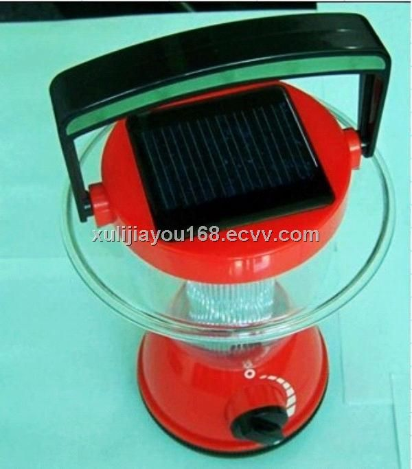 Portable Solar Light Hand Crank Lantern LED Lamp For Christmas Night Lighting - China solar camping light