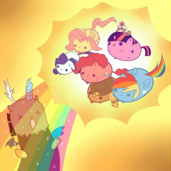 MLP FIM kitty blobs using the elements of harmony.... PRICELESS
